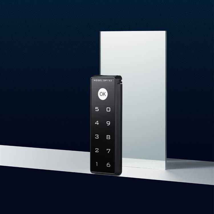 国保DP153密码锁抽屉锁横式竖式(钢木柜通用)