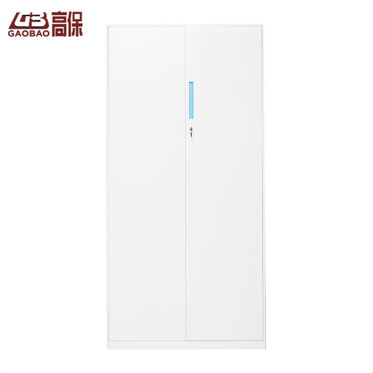 國保機械鎖雙門文件柜W-2 白色   W900*D400*H1850