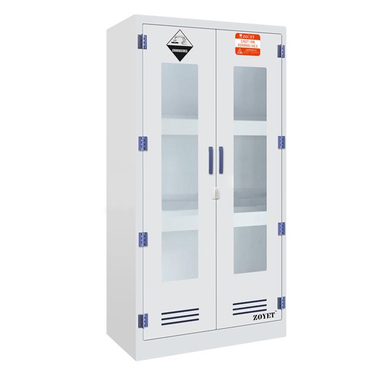 众御PP药品柜ZYPM1800-2带可视窗双门手动