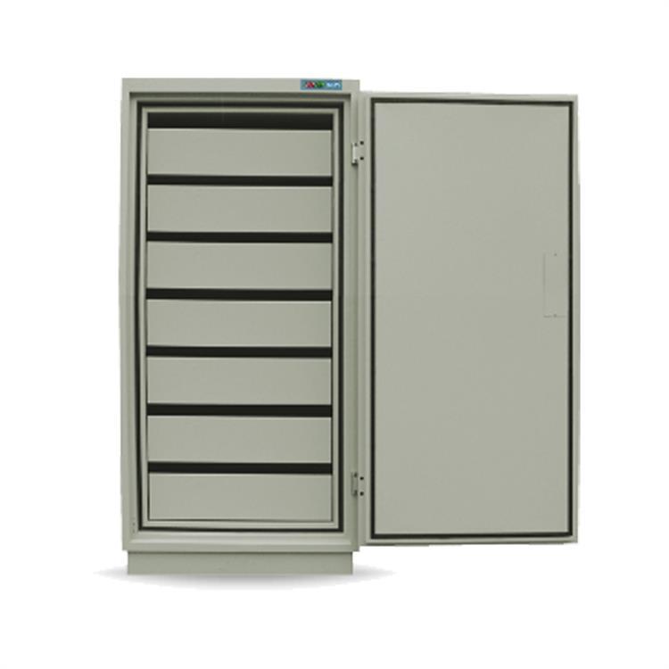 众御防磁防潮柜ZYM280 7个抽屉  1520*700*500