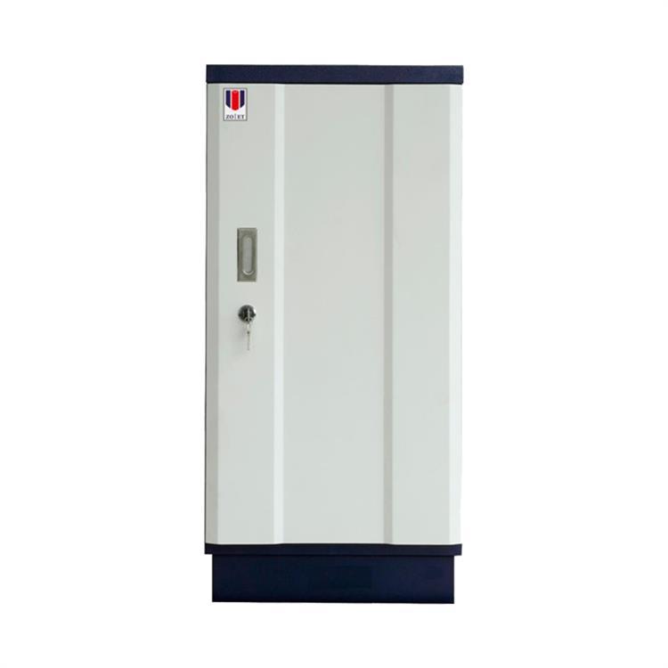 众御ZYL120防磁信息安全柜4个抽屉深蓝色/乳白色